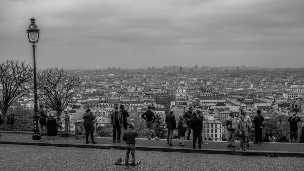 Paris, vue du Sacré Coeur